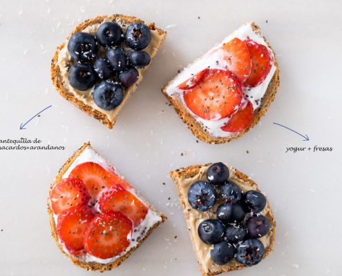 tostadas-con-frutas